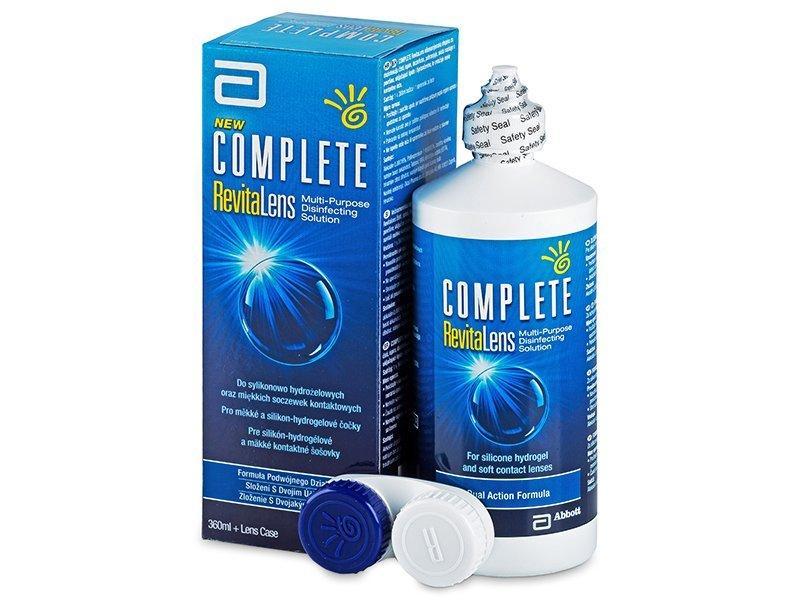líquido de limpieza - Líquido Complete RevitaLens 360ml