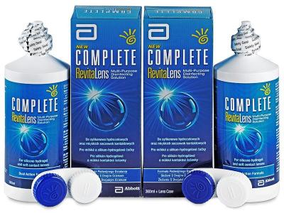 Líquido Complete RevitaLens 2x360ml