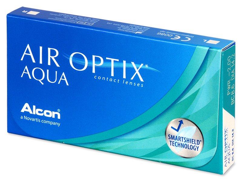 Air Optix Aqua (3lentillas) - Lentes de contacto mensuales