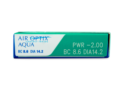 Air Optix Aqua (3 lentillas) - Previsualización de atributos