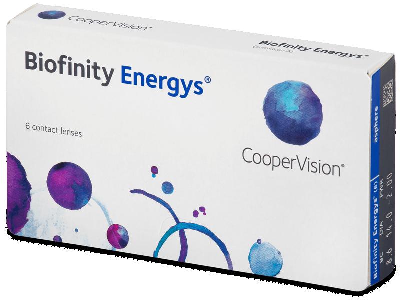 Biofinity Energys (6 lentillas) - Lentes de contacto mensuales