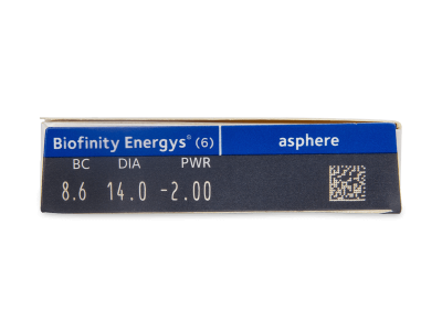 Biofinity Energys (6 lentillas) - Previsualización de atributos