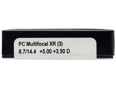 Proclear Multifocal XR (3lentillas) - Previsualización de atributos