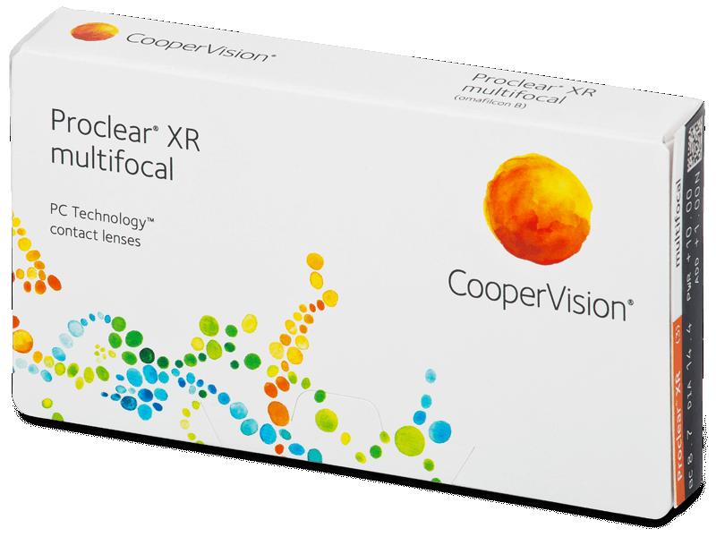 Proclear Multifocal XR (3lentillas) - Lentes de contacto multifocales