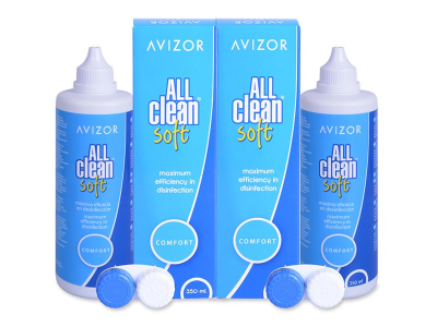Líquido Avizor All Clean Soft 2 x 350 ml