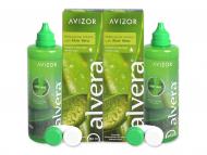Pack ahorro de solución de lentillas - Liquido Alvera 2 x 350 ml
