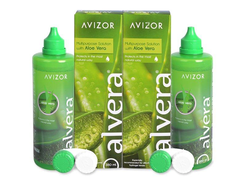 Líquido Alvera 2 x 350 ml  - Pack ahorro - solución doble