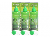 Pack ahorro de solución de lentillas - Liquido Alvera 3 x 350 ml
