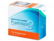Lentillas para Astigmatismo - PureVision 2 for Astigmatism (6lentillas)