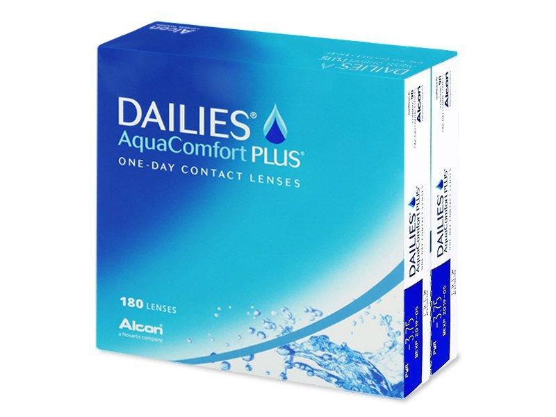 Dailies AquaComfort Plus (180lentillas) - Lentillas diarias desechables