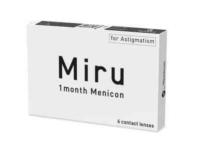 Miru 1 month Menicon for Astigmatism (6 Lentillas) - Diseño antiguo