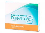Lentillas para Astigmatismo - PureVision 2 for Astigmatism (3 lentillas)