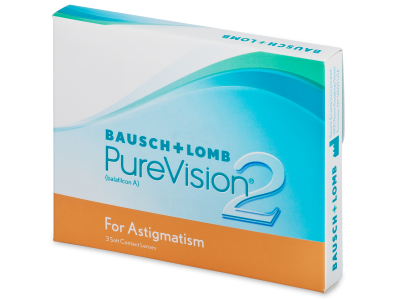 PureVision 2 for Astigmatism (3 lentillas)