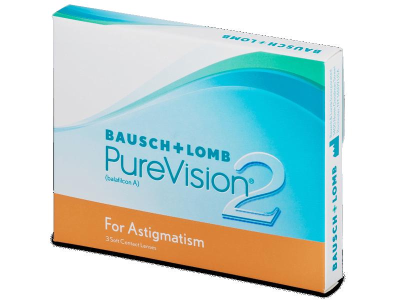 PureVision 2 for Astigmatism (3 lentillas) - Lentillas tóricas