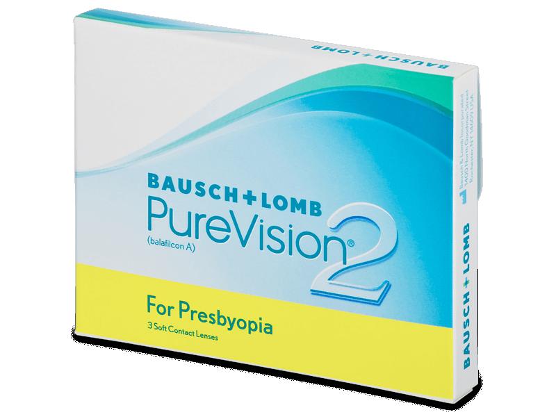 PureVision 2 for Presbyopia (3lentillas) - Lentes de contacto multifocales
