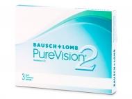 Lentillas Bausch and Lomb - PureVision 2 (3lentillas)