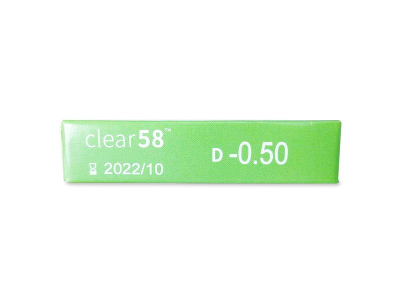 Clear 58 (6lentillas) - Previsualización de atributos