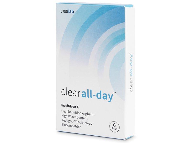 Clear All-Day (6lentillas) - Lentes de contacto mensuales