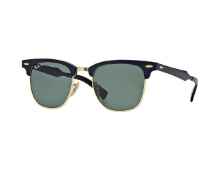 Gafas de sol Clubmaster - Ray-Ban CLUBMASTER ALUMINUM RB3507 136/N5