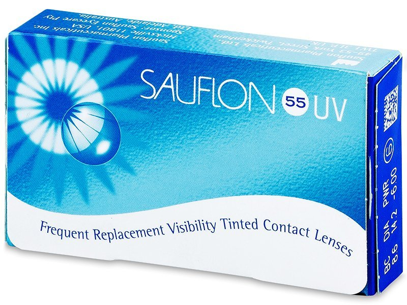 5dc229a73e Sauflon 55 UV (6 lentillas) desde € | Lentes-de-contacto.es