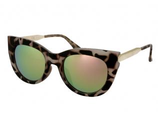 Gafas de sol Mujer - Gafas de sol Alensa Cat Eye Havana Pink Mirror