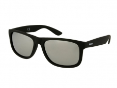 Gafas de sol Alensa Sport Black Silver Mirror