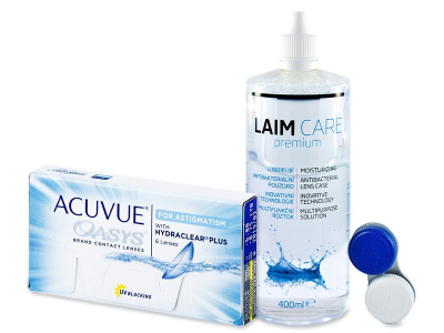Acuvue Oasys for Astigmatism (6 lentillas) + Líquido Laim-Care 400 ml