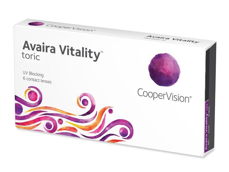 Avaira Vitality Toric (6 lentillas) - Lentillas tóricas