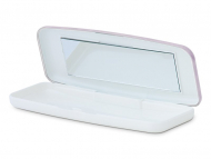 Accesorios para lentes de contacto - Estuche para lentillas diarias - Rosa
