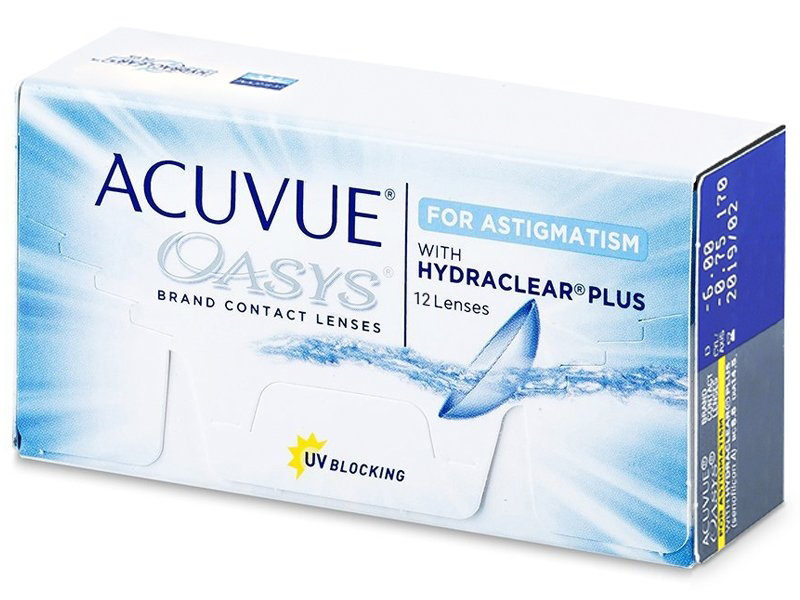 9b8b88bd9519c Acuvue Oasys for Astigmatism (12 lentillas) - Lentillas tóricas