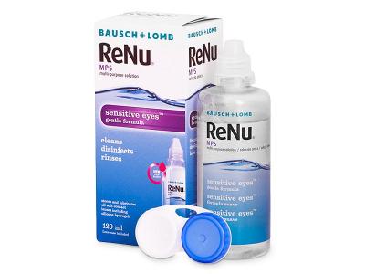 Líquido ReNu MPS Sensitive Eyes 120 ml  - Diseño antiguo