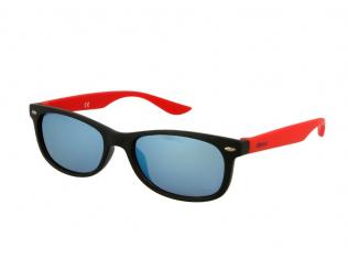 Gafas de sol Classic Way - Gafas de sol para niños Alensa Sport Black Red Mirror