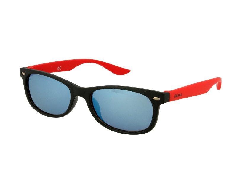 Gafas de sol para niños Alensa Sport Black Red Mirror