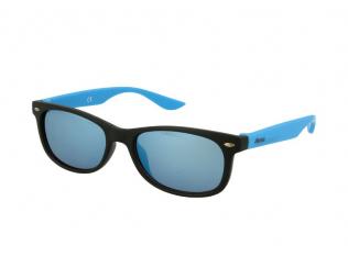 Gafas de sol Classic Way - Gafas de sol para niños Alensa Sport Black Blue Mirror
