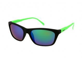 Gafas deportivas - Gafas de sol Alensa Sport Black Green Mirror