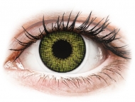 Lentillas de colores con graduación - Air Optix Colors - Gemstone Green - Graduadas (2 lentillas)