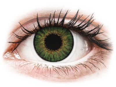 Air Optix Colors - Green - Sin graduar (2lentillas)