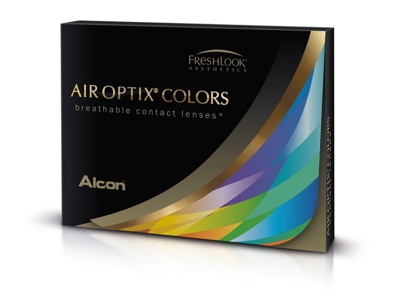 Air Optix Colors - Honey - Sin graduar (2 lentillas)