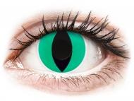 Lentillas de color verde - sin graduación - ColourVUE Crazy Lens - Anaconda - Sin graduar (2 lentillas)