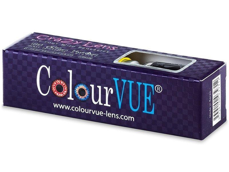 ColourVUE Crazy Lens - BlackOut - Sin graduar (2 lentillas) - ColourVUE Crazy Lens - BlackOut - Sin graduar (2 lentillas)