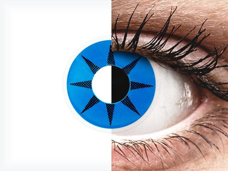 ColourVUE Crazy Lens - Blue Star - Sin graduar (2 lentillas) - ColourVUE Crazy Lens - Blue Star - Sin graduar (2 lentillas)