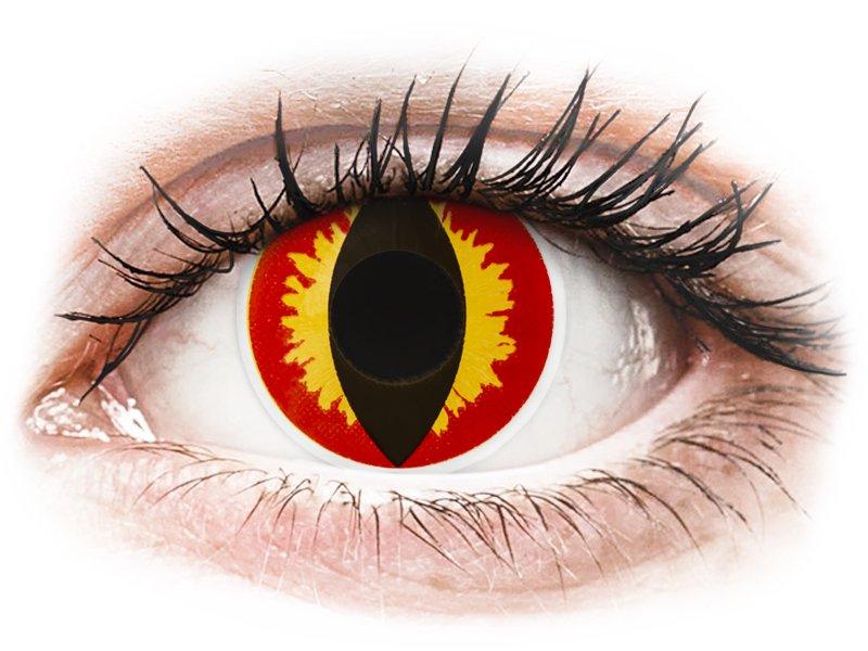 ColourVUE Crazy Lens - Dragon Eyes - Sin graduar (2 lentillas)