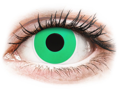 ColourVUE Crazy Lens - Emerald (Green) - Sin graduar (2 lentillas)