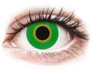 Lentillas de colores especiales - sin graduación - ColourVUE Crazy Lens - Hulk Green - Sin graduar (2 lentillas)