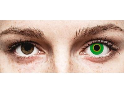 ColourVUE Crazy Lens - Hulk Green - Sin graduar (2 lentillas)