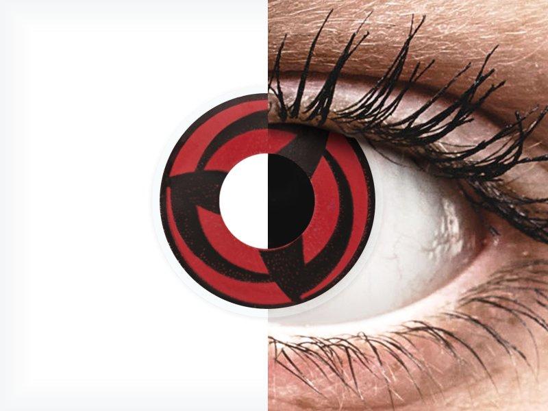 ColourVUE Crazy Lens - Kakashi - Sin graduar (2 lentillas)