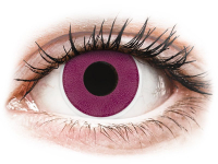 ColourVUE Crazy Lens - Purple - Sin graduar (2 lentillas)