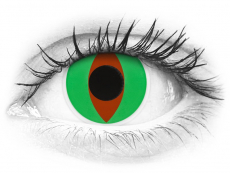 ColourVUE Crazy Lens - Raptor - Sin graduar (2 lentillas)