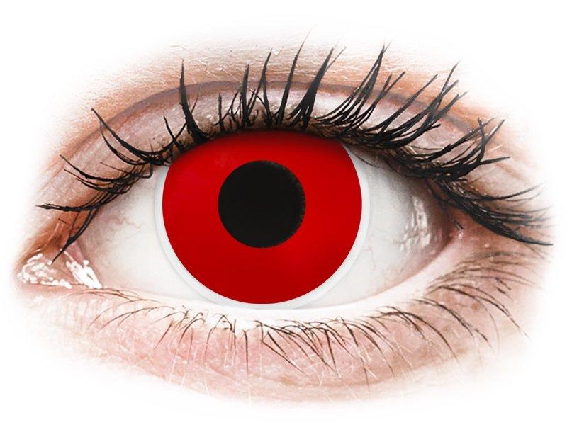 ColourVUE Crazy Lens - Red Devil - Sin graduar (2 lentillas)