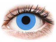 Lentillas de color azul - sin graduación - ColourVUE Crazy Lens - Sky Blue - Sin graduar (2 lentillas)